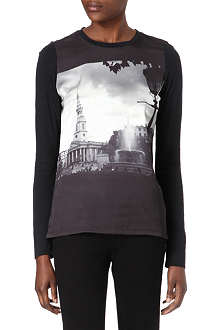 PAUL BY PAUL SMITH London Scene long-sleeved t-shirt