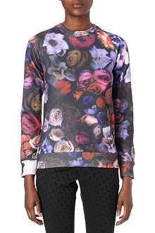 PAUL BY PAUL SMITH Rose-print jumper