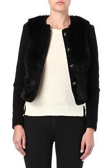 PAUL BY PAUL SMITH Faux-fur jacket