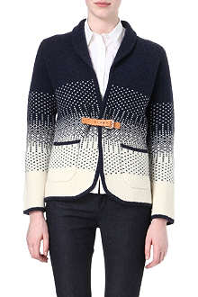 PAUL BY PAUL SMITH Buckled knitted cardigan