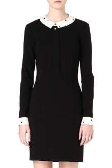 PAUL BY PAUL SMITH Contrast collar dress