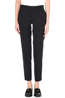 PAUL SMITH BLACK Classic slim-fit wool-blend trousers