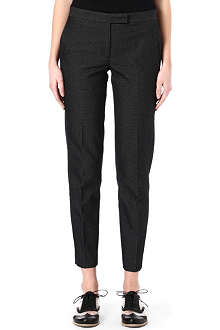 PAUL SMITH BLACK Speckled cropped trousers