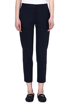 PAUL SMITH BLACK Contrast-coloured cropped trousers