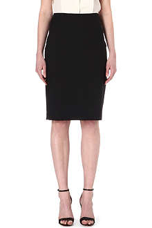 PAUL SMITH BLACK Classic wool pencil skirt
