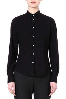 PAUL SMITH BLACK Classic cotton-blend shirt