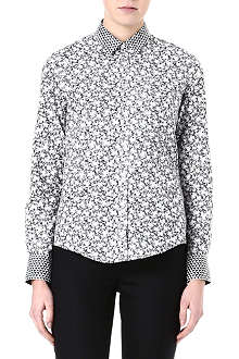 PAUL SMITH BLACK Floral-print shirt