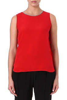 PAUL SMITH BLACK Sleeveless top