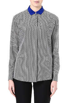 PAUL SMITH BLACK Houndstooth-print shirt