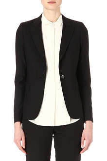 PAUL SMITH BLACK Peak-lapel wool blazer