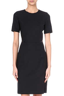 PAUL SMITH BLACK Wool-blend shift dress