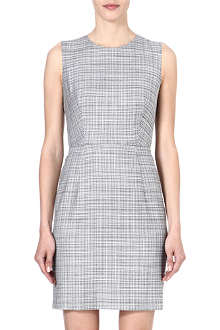 PAUL SMITH BLACK Multi-check shift dress
