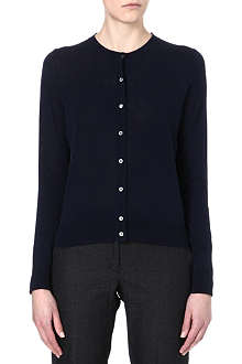 PAUL SMITH BLACK Swirl-back cardigan