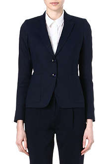 PAUL SMITH BLACK Linen blazer