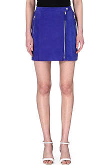 PAUL BY PAUL SMITH Suede mini skirt