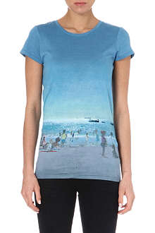 PAUL BY PAUL SMITH Sea Scene cotton t-shirt