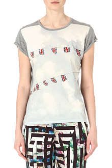 PAUL BY PAUL SMITH Union Jack bunting t-shirt