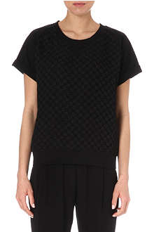 PAUL BY PAUL SMITH Textured floral t-shirt