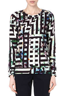PAUL BY PAUL SMITH Flower Maze sweatshirt