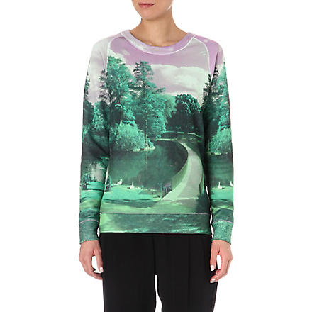 PAUL BY PAUL SMITH Landscape sweatshirt (Green