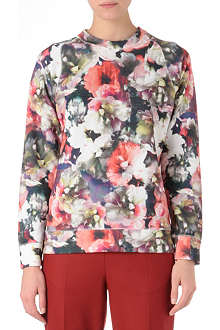 PAUL SMITH Floral-print sweatshirt