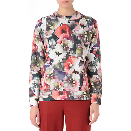 PAUL SMITH Floral-print sweatshirt (Multi