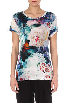PAUL BY PAUL SMITH Marble-print t-shirt