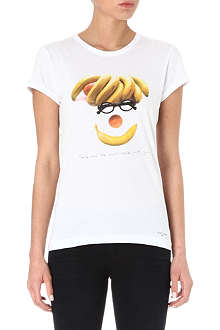 PAUL BY PAUL SMITH Banana cotton t-shirt