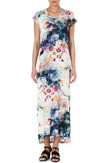 PAUL BY PAUL SMITH Marble-print maxi dress