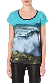 PAUL BY PAUL SMITH Seascape printed t-shirt