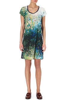 PAUL BY PAUL SMITH Water-print jersey dress