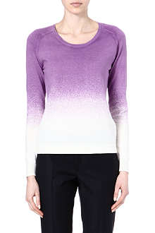 PAUL BY PAUL SMITH Ombre cotton top