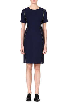 PAUL SMITH BLACK Contrast shift piping dress