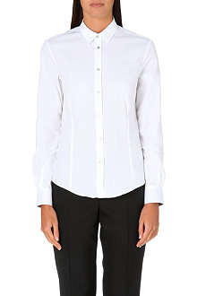 PAUL SMITH BLACK Classic stretch-cotton shirt