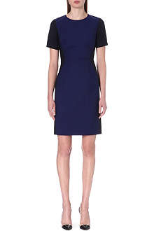 PAUL SMITH BLACK Tailored wool and mohair-blend dress