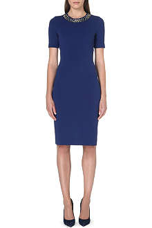 PAUL SMITH BLACK Fitted embellished dress