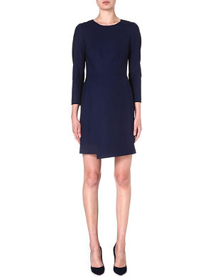 PAUL SMITH BLACK Stretch-wool dress