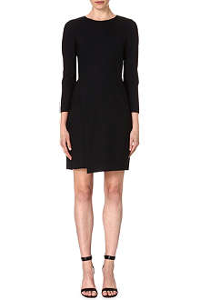 PAUL SMITH BLACK Fitted stretch-wool dress