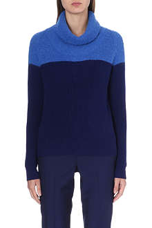PAUL SMITH BLACK Turtleneck knitted jumper