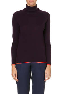 PAUL SMITH BLACK Turtle neck jumper
