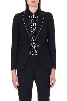 PAUL SMITH BLACK Stretch-wool blazer