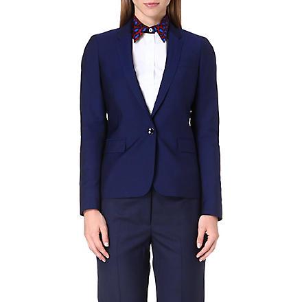 PAUL SMITH BLACK Wool-blend blazer (Blue