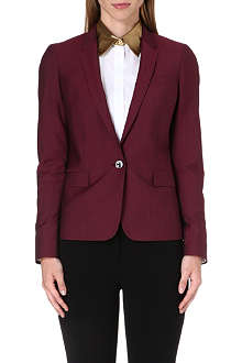 PAUL SMITH BLACK Wool-blend blazer