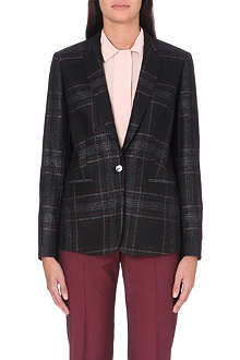 PAUL SMITH BLACK Long-sleeve tweed jacket