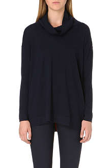 PAUL SMITH BLACK Contrast-trim wool jumper