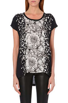 PAUL SMITH PAUL Graphic floral-print t-shirt
