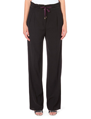 PAUL SMITH MAINLINE Drawstring loose-fit trousers