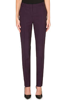 PAUL SMITH MAINLINE Slim straight wool trousers