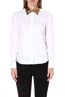 PAUL SMITH MAINLINE Metallic collar shirt