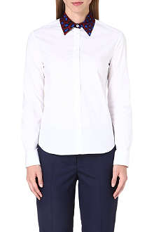 PAUL SMITH MAINLINE Leopard print collar shirt